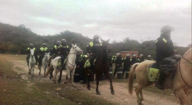 Tucumán: Desalojan a familias de la comunidad Indio Colalao