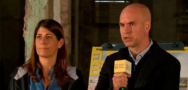 """Télam: despedido por hacerle preguntas """"incómodas"""" a Horacio Rodríguez Larreta"""