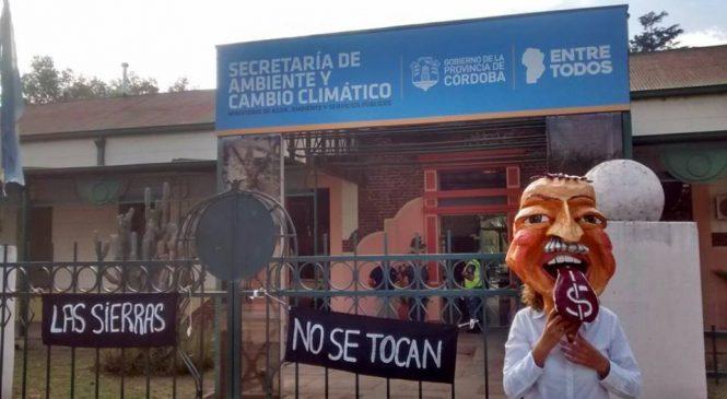 Córdoba: Manifestación en la Secretaría de Ambiente y Cambio Climático