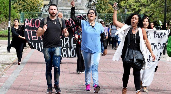 Segundo día de protesta de prestadores de salud de IOMA