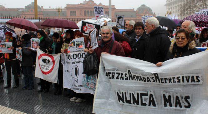 Multitudinario rechazo al Decreto 683/18 de militarización de la protesta social