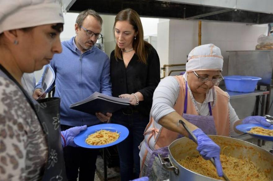 Comedores, política y seguridad para acallar el descontento social ...