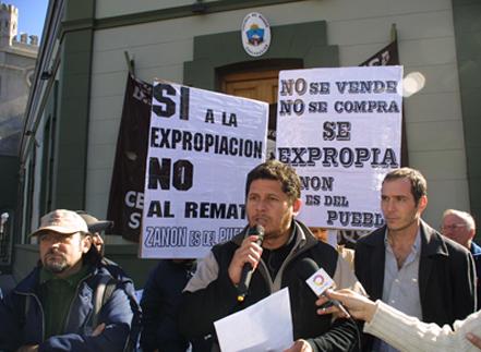 Entrevista a Alejandro, referente de FASINPAT-Zanón