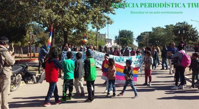 """""""Una marcha porque queremos la tierra para nuestro futuro"""""""