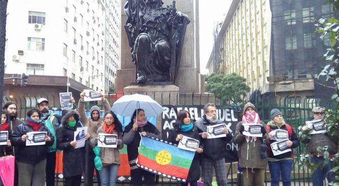 Buenos Aires: Acto a ocho meses del asesinato de Rafael Nahuel