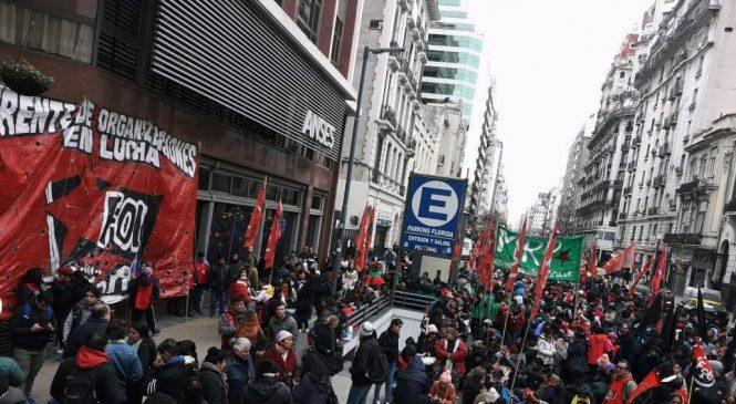 Movilizaciones frente a la ANSES sin respuestas del Gobierno