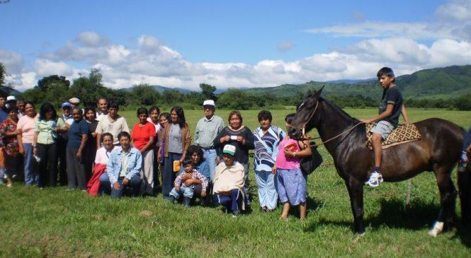 Salta: Gestionan servicios básicos para la comunidad Lules