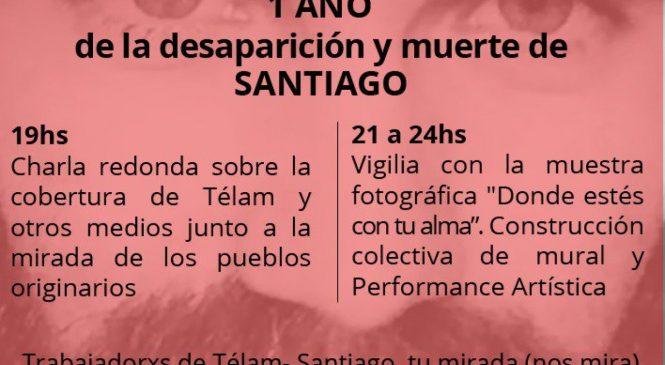 Justicia por Santiago Maldonado. Rechazamos las operaciones de prensa que favorecen la represión