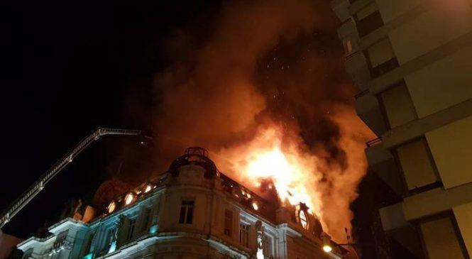 Aportantes truchos: se incendió una sede del Banco Nación donde había documentación