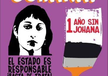 Convocatoria a mural por Johana
