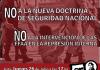 No a la intervención de las FFAA en la represión interna. No a la doctrina de seguridad nacional