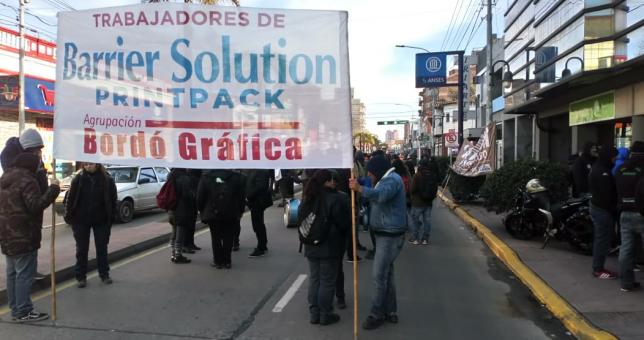 San Pedro: Despidos en la gráfica Barrier Solution
