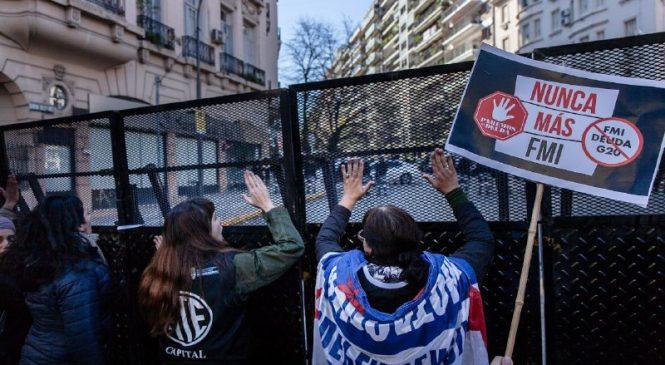 Movilización contra el FMI y el G20