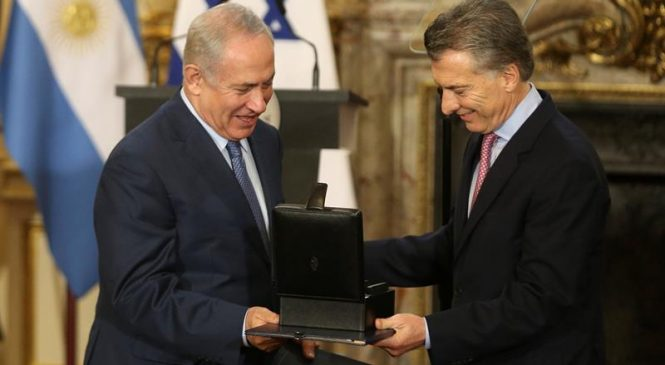 Tropas israelíes vigilarán costas de Argentina