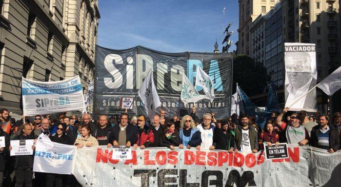 La Justicia anula el plan de despidos masivos de Télam