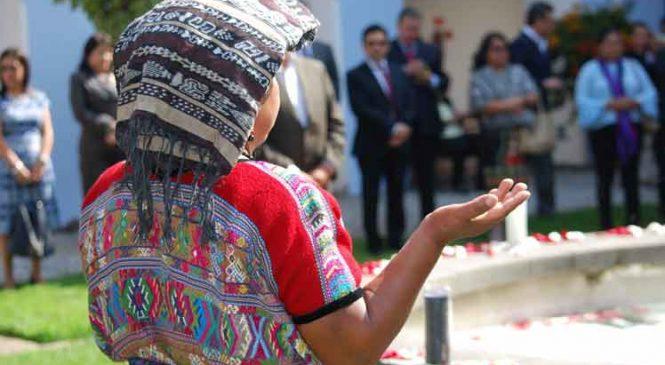 Guatemala sigue en deuda con sus pueblos originarios