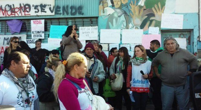 El crimen de Sandra y Rubén: La educación pública de pie y en la calle