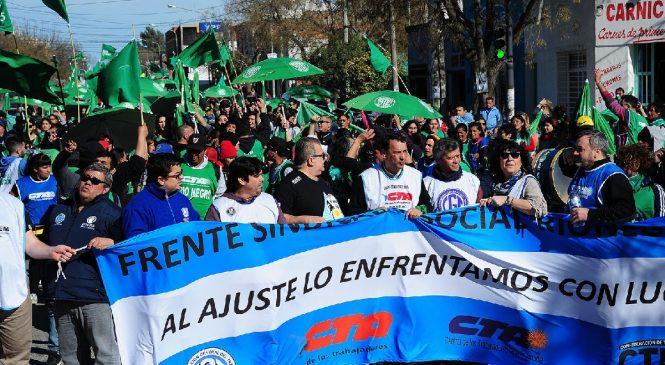 Movilización unitaria en Río Negro