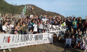 #NoALaAutovia: Empresa y Gobierno infrigen licencia en Punilla (Cba)