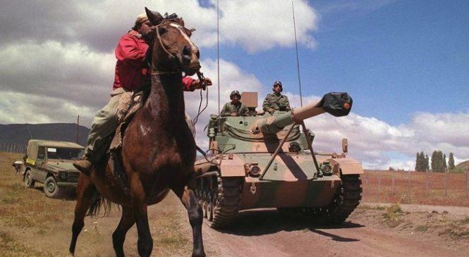 """La """"modernización"""" de las Fuerzas Armadas apunta al pueblo mapuche"""