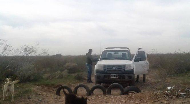 Operativo policial o parapolicial en tierra mapuce de la Meseta