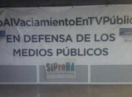 Retención de tareas en la TV Pública