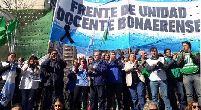 Tras la amenaza de paro, Vidal llamó a los docentes a una nueva reunión paritaria