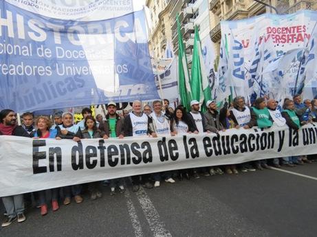 Sin Universidad pública no hay futuro
