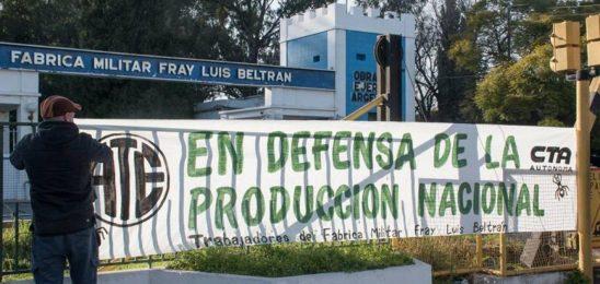 Alerta por despidos en Fabricaciones Militares