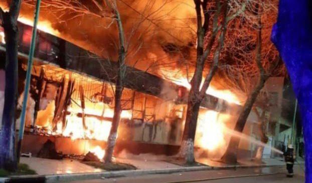Sindicatos de la salud denuncian al gobierno de Larreta por el incendio del CeSAC Lugano