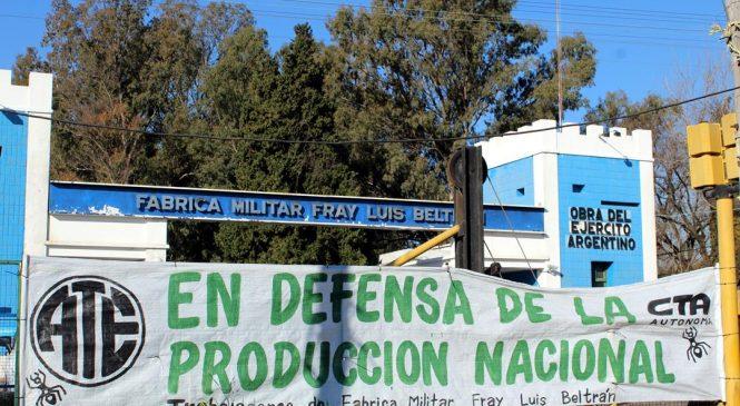 Fabricaciones Militares: Cinismo a prueba de balas