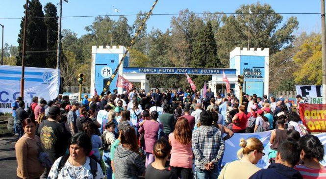 Cordón Industrial de Rosario: Asamblea multisectorial definió paro regional el 4 de septiembre