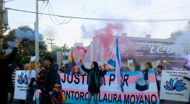 3 años del transfemicidio de Laura Moyano: familia y amigxs marcharon en su barrio