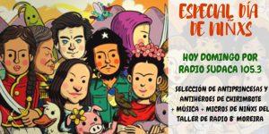 RETRASMITE RADIO LA NEGRA: DOMINGO A PARTIR DE LAS 16HS ESCUCHÁ POR RADIO SUDACA 105.3, EL PROGRAMA ESPECIAL DEDICADO A LAS #INFANCIAS