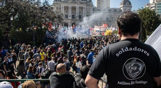 Astillero Río Santiago: una lucha que puede dinamitar los planes de Vidal