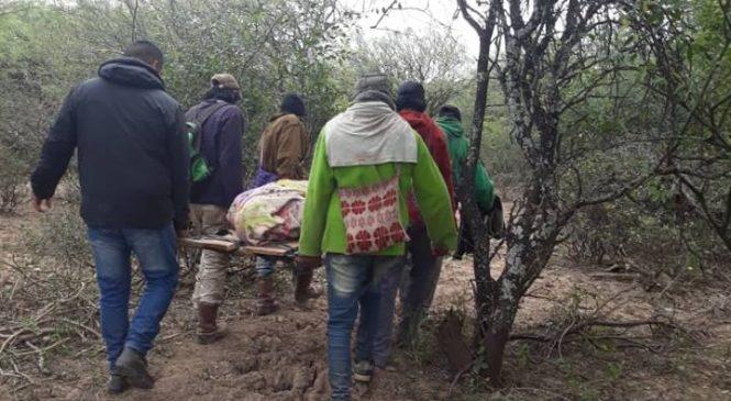 Muere joven wichi tras una represión