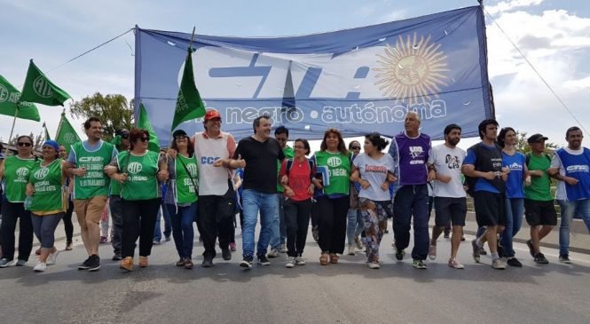 Río Negro: Paro provincial del 28 de agosto