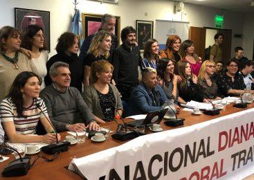 "Proyecto de cupo nacional Diana Sacayán: ""Esta ley viene a romper estigmas"""