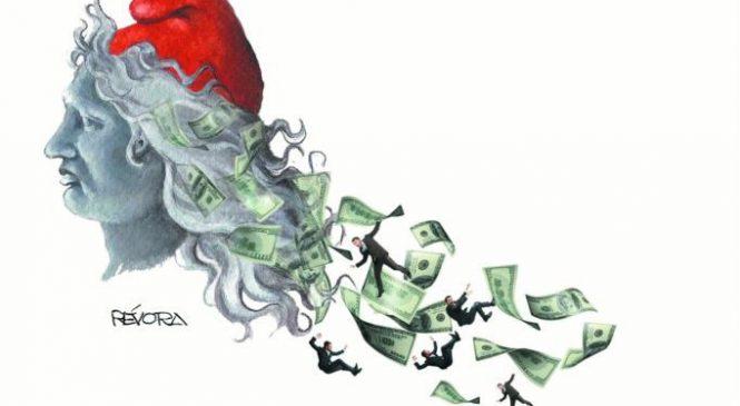 Infarto cambiario, gabinete despeñado y tirón de orejas de Lagarde