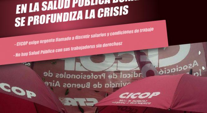 CICOP: Salarios en caída libre y un Ministro ausente