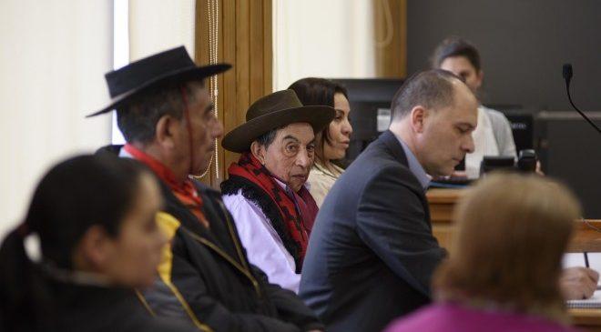 Bariloche: Juzgan a mapuches imputados de usurpación