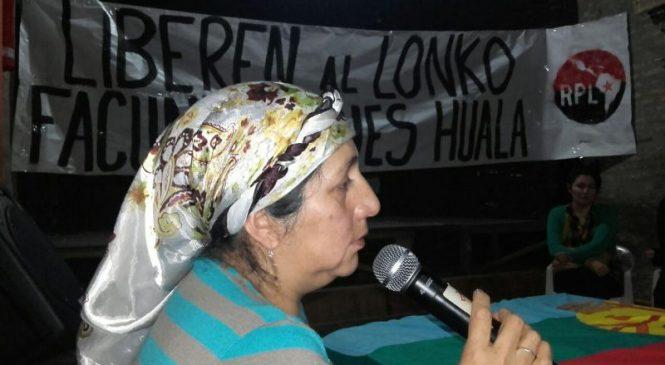 """Conversatorio con Isabel Huala: """"Claro que somos resistencia ancestral mapuche, desde hace años"""""""
