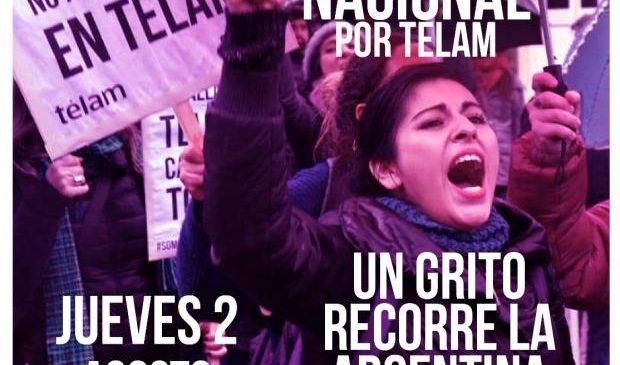 De Ushuaia a La Quiaca, 357 actos simultáneos por los despidos en la Agencia Télam