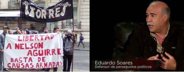 Niegan a Eduardo Soares que asista a su defendido Nelson Aguirre en una causa armada