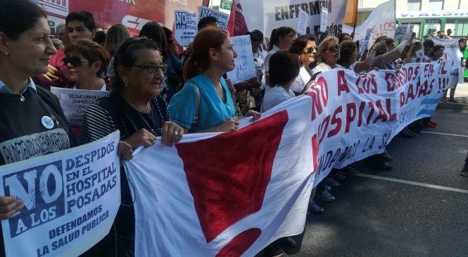 Denuncian 309 nuevos despidos en el Hospital Posadas