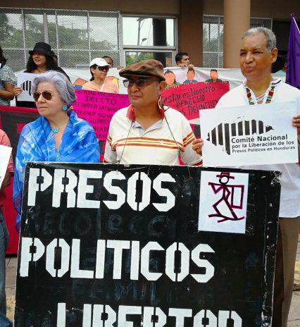 Libertad a los Presos Políticos en Honduras