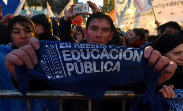 Fotogalería: Marcha Nacional Universitaria