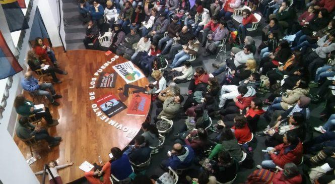 """Presentación del Movimiento de los Pueblos: """"por un socialismo feminista desde abajo"""""""