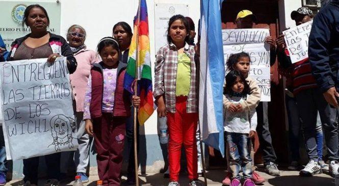 Wichis reclaman derecho ancestral sobre unas tierras en El Quebrachal