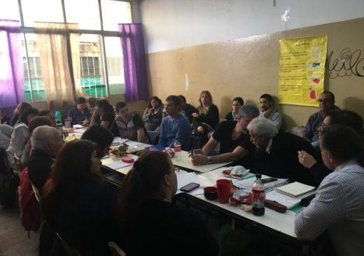 Moreno: se levantó el acampe frente al Consejo Escolar
